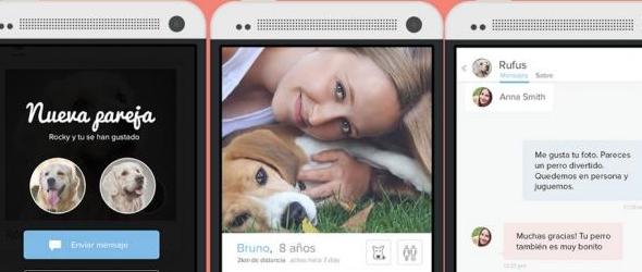 Tindog la aplicación para que tu perro ligue