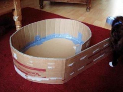 Preparando una cama para nuestro gato canal mascotas - Como hacer una cama de perro ...